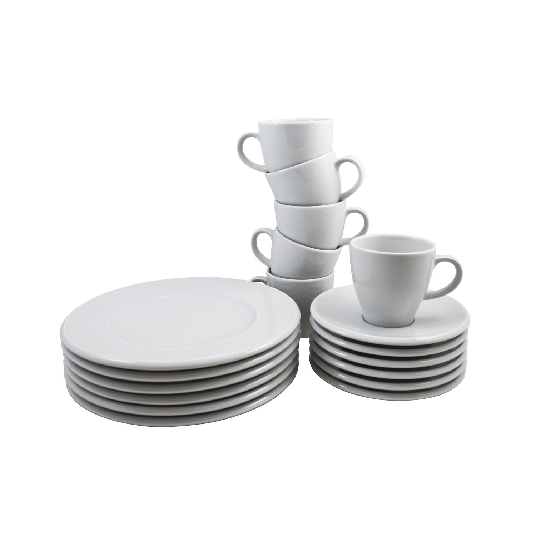 arzberg kaffeeservice 18 teilig novo rund porzellan wei univonretsch arzberg g nstig bei. Black Bedroom Furniture Sets. Home Design Ideas